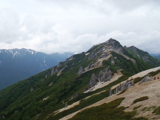 The peak of Tsubakurodake.