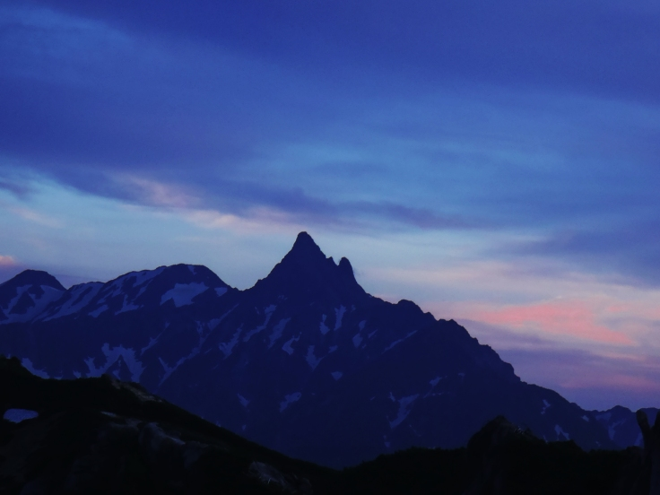 Mt. Yarigatake.