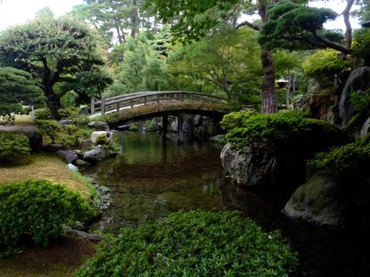 Palace garden.