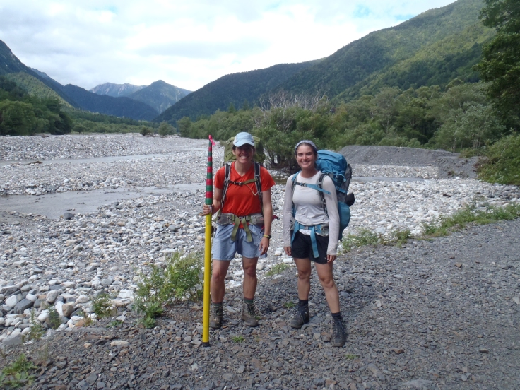 Hiking out Kamikochi.