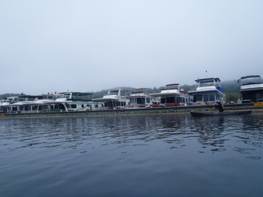 Houseboat row.