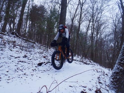 Ev gets air down Osprey.