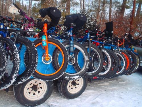 More fat tires.