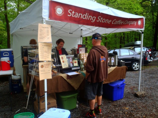 Standing Stone Coffee Company returned this year with their all-new portable expresso bar, which turned out to be a big hit!
