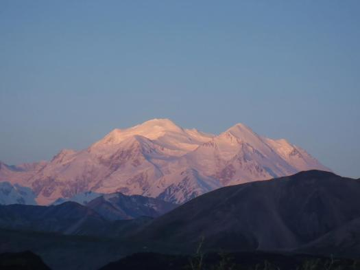 Denali sunrise.