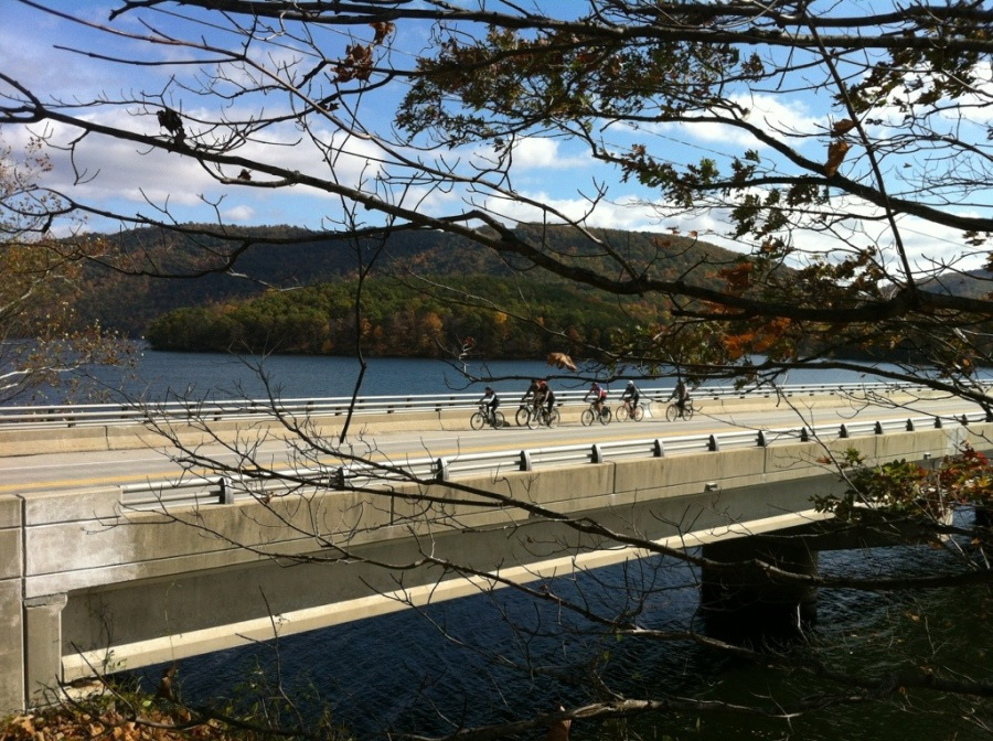 Bicycles and bridges.