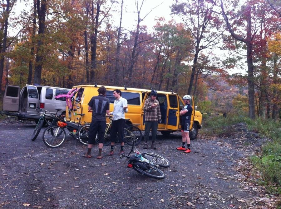 Yellow Van=Adventure Bus