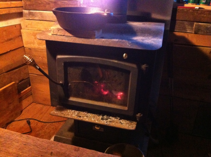 The second stove.