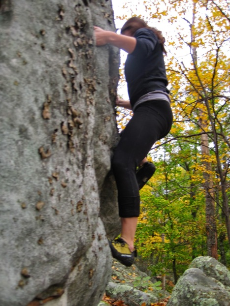 Bouldering in Martin Gap. Something else I'd like to do more of in 2015.