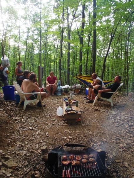 Gatherings & fire meat.