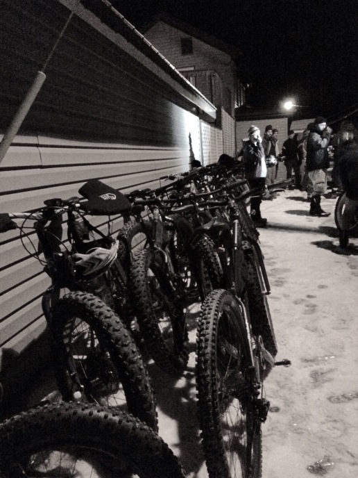 Fat bike invasion.