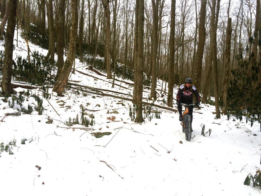 Up Brush Ridge.