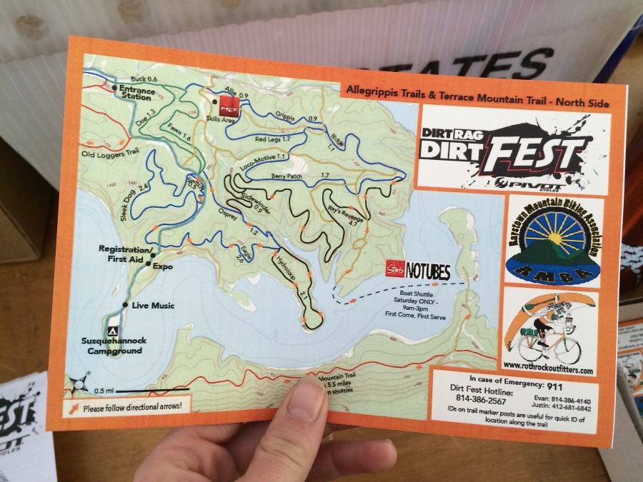 This Dirt Fest map was also the debut of my map-making business, AlpackaMap.