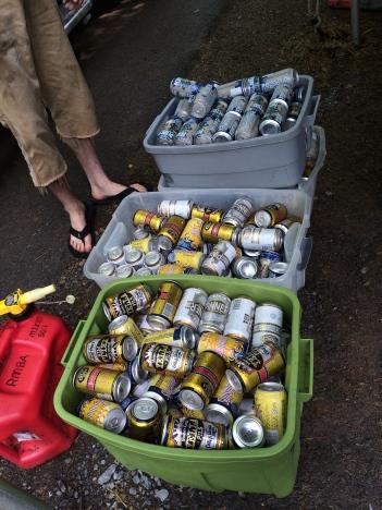 Leftover beer=first world problem.