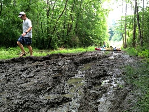 muddy portage
