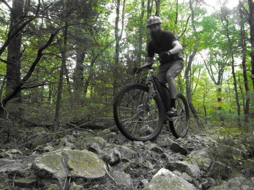 jake rides green