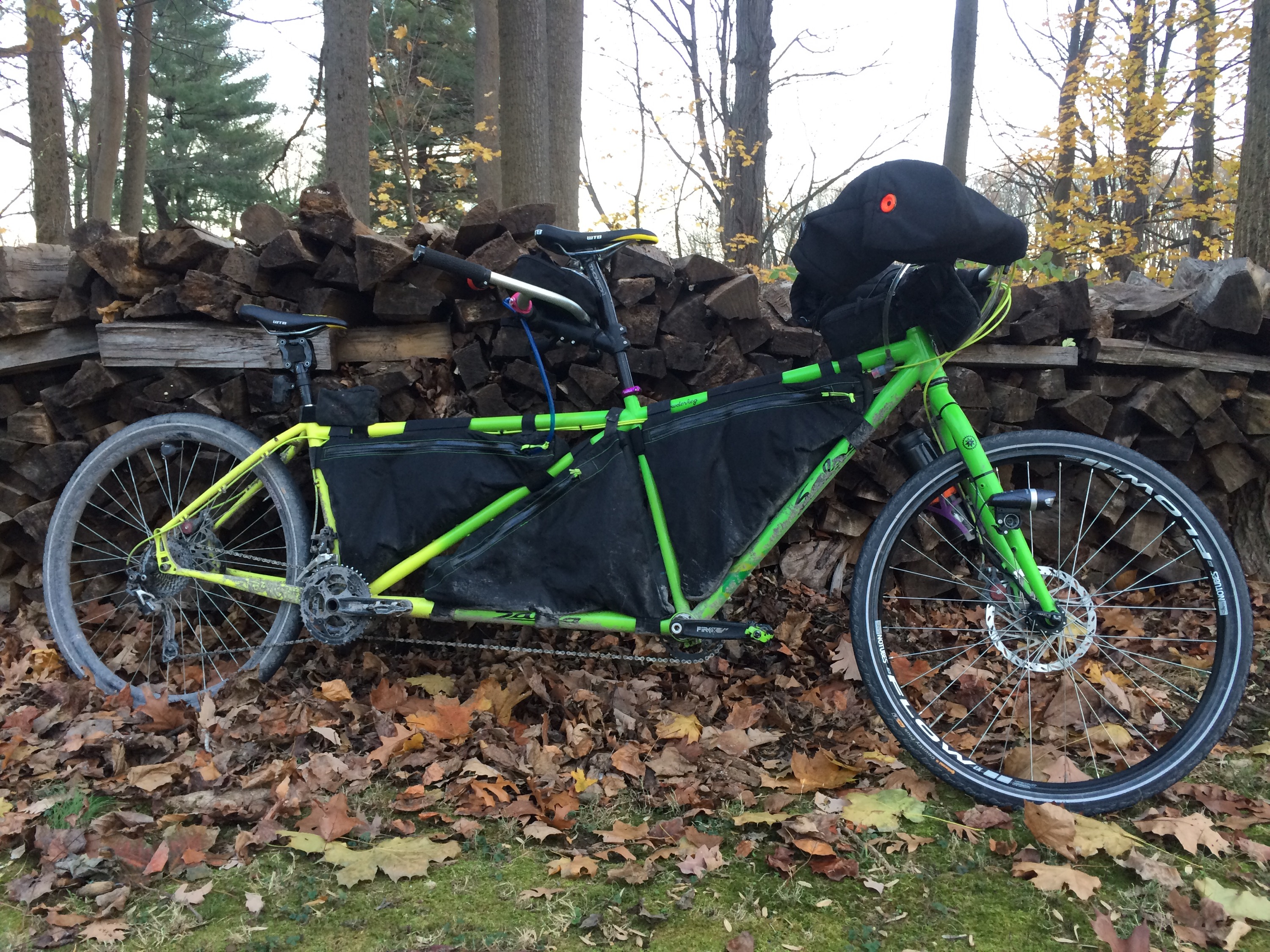 Ride to Thanksgiving: The Bike & Gear – to the nth degree