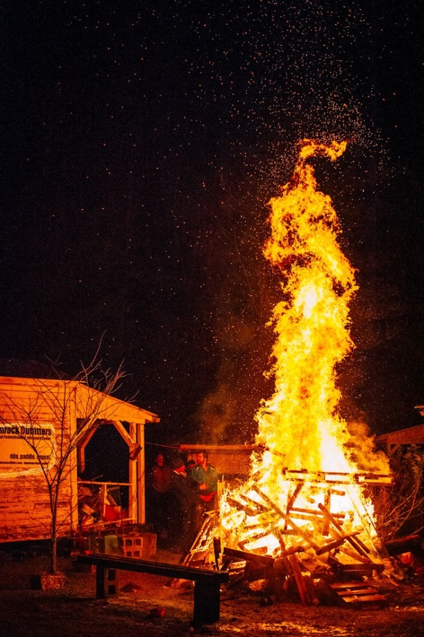 tall fire